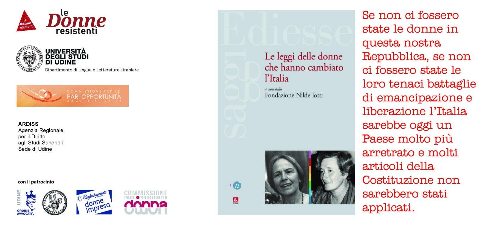 Le leggi delle donne che hanno cambiato l italia paola for Chi fa le leggi in italia